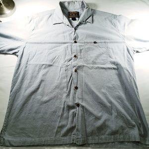 Woolrich Men's Shirt Light Blue XL 100% cotton